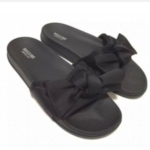 Mossimo  Julisa Slide Sandals Fabric Bow-#62-152